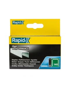 Rapid 6mm Galvanised Staples Box 2000 - RPD1406