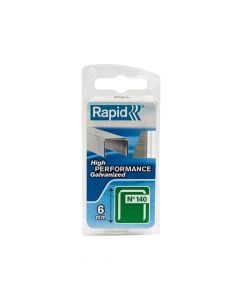 Rapid 6mm Galvanised Staples Narrow Box 970 - RPD1406NB