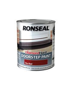Ronseal Diamond Hard Doorstep Paint Tile Red 750ml - RSLDHDSPR750