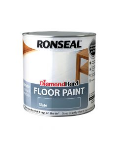 Ronseal Diamond Hard Floor Paint Slate 2.5 Litre - RSLDHFPSL25L