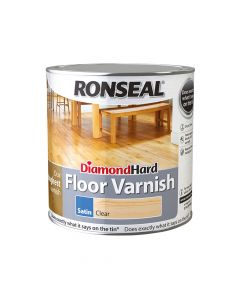Ronseal Diamond Hard Floor Varnish Gloss 2.5 Litre - RSLDHFVG25L