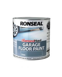 Ronseal Diamond Hard Garage Floor Paint Slate 2.5 Litre - RSLDHGFPS25L