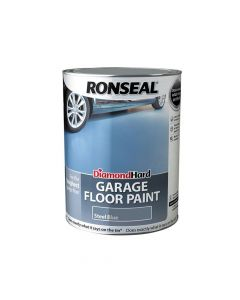 Ronseal Diamond Hard Garage Floor Paint Steel Blue 5 Litre - RSLDHGFPSB5L