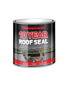 Ronseal Thompson's Roof Seal Black 1 Litre - RSLHPRS1L