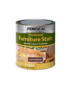 Ronseal Ultimate Protection Hardwood Garden Furniture Stain Rosewood 750ml - RSLHWFSRW750