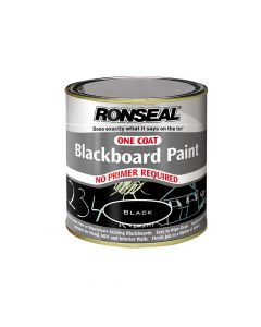 Ronseal One Coat Blackboard Paint 250ml - RSLOCBBP250
