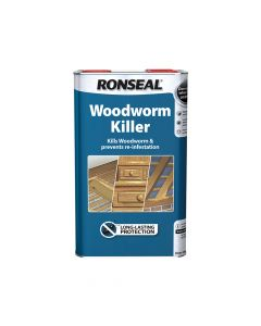 Ronseal Woodworm Killer 5 Litre - RSLWK5L