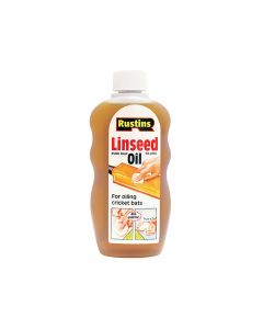 Rustins Raw Linseed Oil 500ml - RUSLOR500
