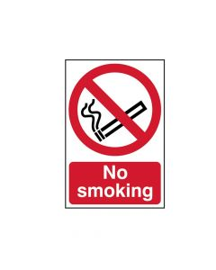 Scan No Smoking - PVC 200 x 300mm - SCA0550