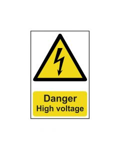 Scan Danger High Voltage - PVC 200 x 300mm - SCA0761
