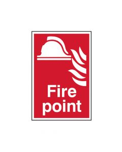 Scan Fire Point - PVC 200 x 300mm - SCA1451