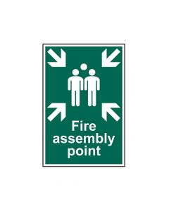 Scan Fire Assembly Point - PVC 200 x 300mm - SCA1541