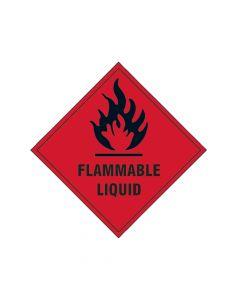 Scan Flammable Liquid SAV - 100 x 100mm - SCA1850S