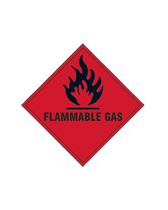 Scan Flammable Gas SAV - 100 x 100mm - SCA1852S