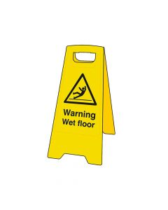 Scan Warning Wet Floor Heavy-Duty A Board - SCA4702