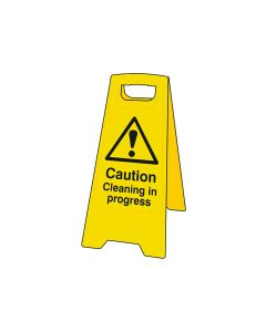 Scan Caution Cleaning In Progress Heavy-Duty A Board - SCA4703