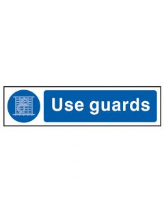 Scan Use Guards - PVC 200 x 50mm - SCA5003