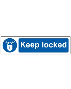 Scan Keep Locked - PVC 200 x 50mm - SCA5011