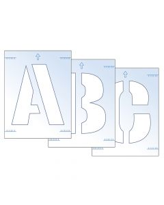 Scan Letter Stencil Kit 300mm - SCA9417