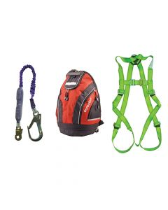 Scan Fall Arrest Scaffolders Kit in Rucksack - SCAFAKITBAG