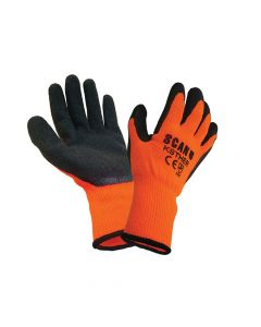 Scan Thermal Latex Coated Gloves - Large (Size 9) (Pack 5) - SCAGLOKSTH5