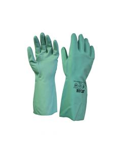 Scan 13in Nitrile Gloves - Large (Size 9) - SCAGLONITG