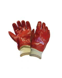 Scan PVC Knitwrist Gloves - SCAGLOPVCKW