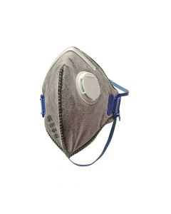 Scan Fold Flat Disposable Odour Mask Valved FFP2 Protection (Pack of 3) - SCAPPEP2OFFV