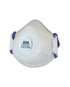 Scan Moulded Duranet Disposable Mask FFP2 (Pack of 2) - SCAPPEP2VDUR