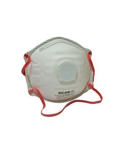 Scan Moulded Disposable Valved Masks FFP3 (Pack of 2) - SCAPPEP3MVD