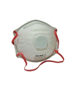 Scan Moulded Disposable Valved Masks FFP3 (Box of 10) - SCAPPEP3MVDB