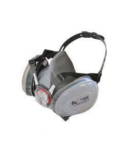 Scan Twin Half Mask Respirator + P2 Dust Filter Cartridges - SCAPPERESPP2