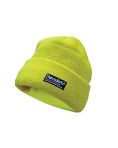 Scan Hi-Vis Beanie Hat Thinsulate Lined - SCAWWHVBEAN