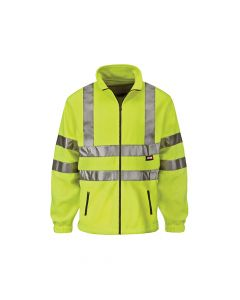 Scan Hi-Vis Yellow Full Zip Fleece - L (42in) - SCAWWHVFL