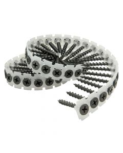 Senco DuraSpin Collated Screws Drywall to Wood Screw 3.9 x 45mm Pack 1,000 - SEN39A45MP