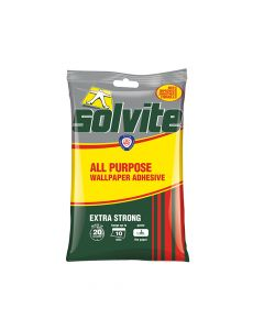 Solvite All Purpose Wallpaper Paste Sachet 5 Roll - SLV1591219
