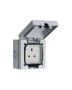 SMJ IP66 13A Socket 1 Gang - SMJE613SB