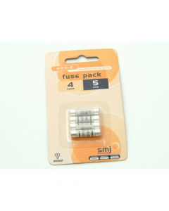 SMJ 5A Fuses (Pack of 4) - SMJFU05AC
