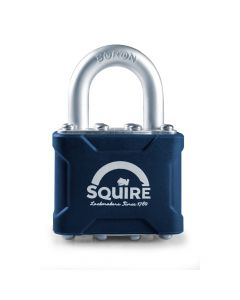 Squire 35KA - Stronglock Pin Tumbler 40mm Laminated Double Locking Padlock - Open Shackle - Keyed Alike