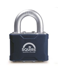 Squire 39MK - Stronglock Pin Tumbler 50mm Laminated Double Locking Padlock - Open Shackle - Master Keyed