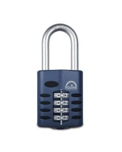 Squire CP50/1.5 - Weather Resistant 50mm Combination Padlock - 4 wheel - Long Shackle 1.5""