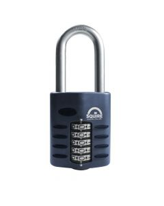 Squire CP60/2.5 - Weather Resistant 60mm Combination Padlock - 5 Wheel - Long Shackle 2.5""