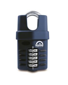 Squire CP60CS - Weather Resistant 60mm Combination Padlock - 5 Wheel - Closed Shackle