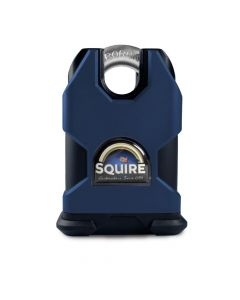 Squire SS50EM L.SMITH - Stronghold 50mm UnHardened Body Padlock (Body Only) - Open Shackle - Accepts any Modified 71mm Double Euro Cylinder