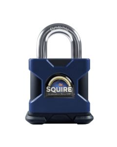 Squire SS50S 8mm Restricted Profile - Stronghold 50mm Hardened Steel Padlock - Open Shackle 8mm Dia
