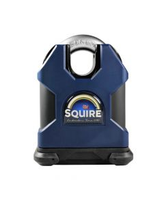 Squire SS65CS Restricted Profile - Stronghold 65mm Hardened Steel Padlock - Closed Shackle