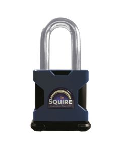 Squire SS65S/2.5 Restricted Profile - Stronghold 65mm Hardened Steel Padlock - Long Shackle 2.5""