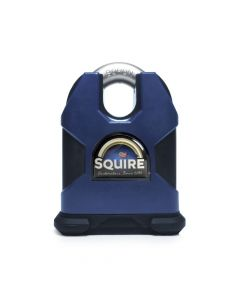 Squire SS80CSKA - Stronghold 80mm Hardened Steel Padlock - Closed Shackle - Keyed Alike