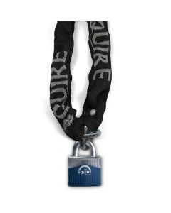 Squire WARRIOR 55 J3 Padlock with Hardened Alloy Chain