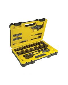 Stanley Tech 3 Socket Set 61 Piece 1/2in Drive - STA072654